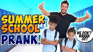SUMMER SCHOOL PRANK On The Kids!! (EXTREMELY FUNNY)