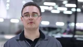 Диагностика: тормоза и подвеска Hyundai Solaris на стенде - сервис и гарантия Хундай Солярис.