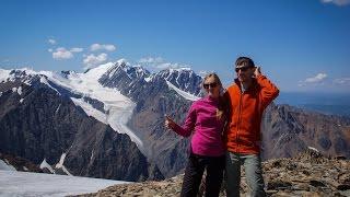 Радиалка на Купол Трех Озер с альплагеря Актру (Северо-Чуйский хребет)(Радиальное восхождение на вершину Купол Трех Озер из альплагеря