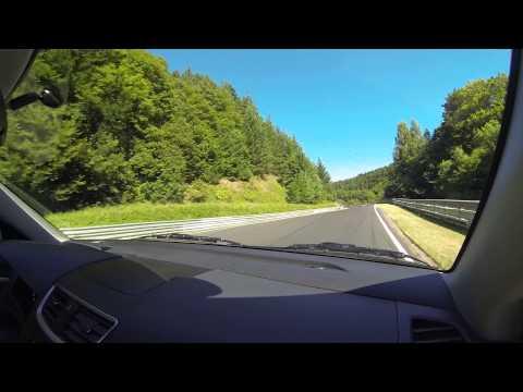 Nurburgring Nordschleife in a Suzuki Swift Sport