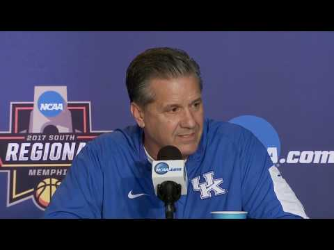 News Conference: Kentucky Sweet 16 Preview