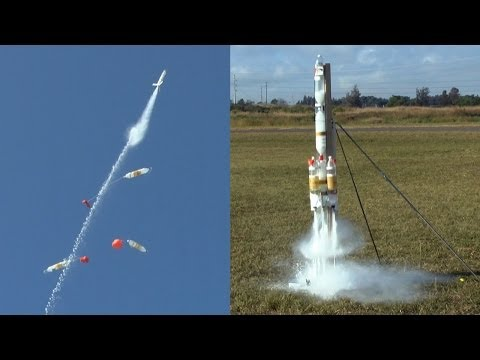how to make a water rocket step by step