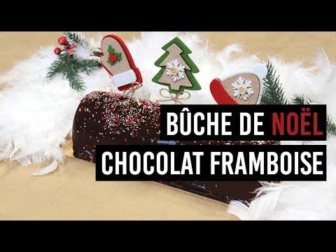 🍰-bÛche-de-noËl-chocolat-framboise-🍰