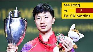 [20190428] ELTASports | Ma Long vs FALCK Mattias | MS-F | 2019 World Championships | Full Match