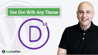 How To Use Divi With Any WordPress Theme - Simple 3 Click Solution