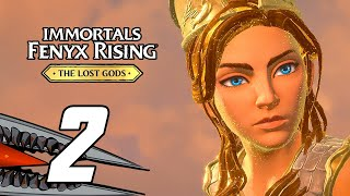 Immortals Fenyx Rising: The Lost Gods DLC - Gameplay Walkthrough Part 2 (PC)