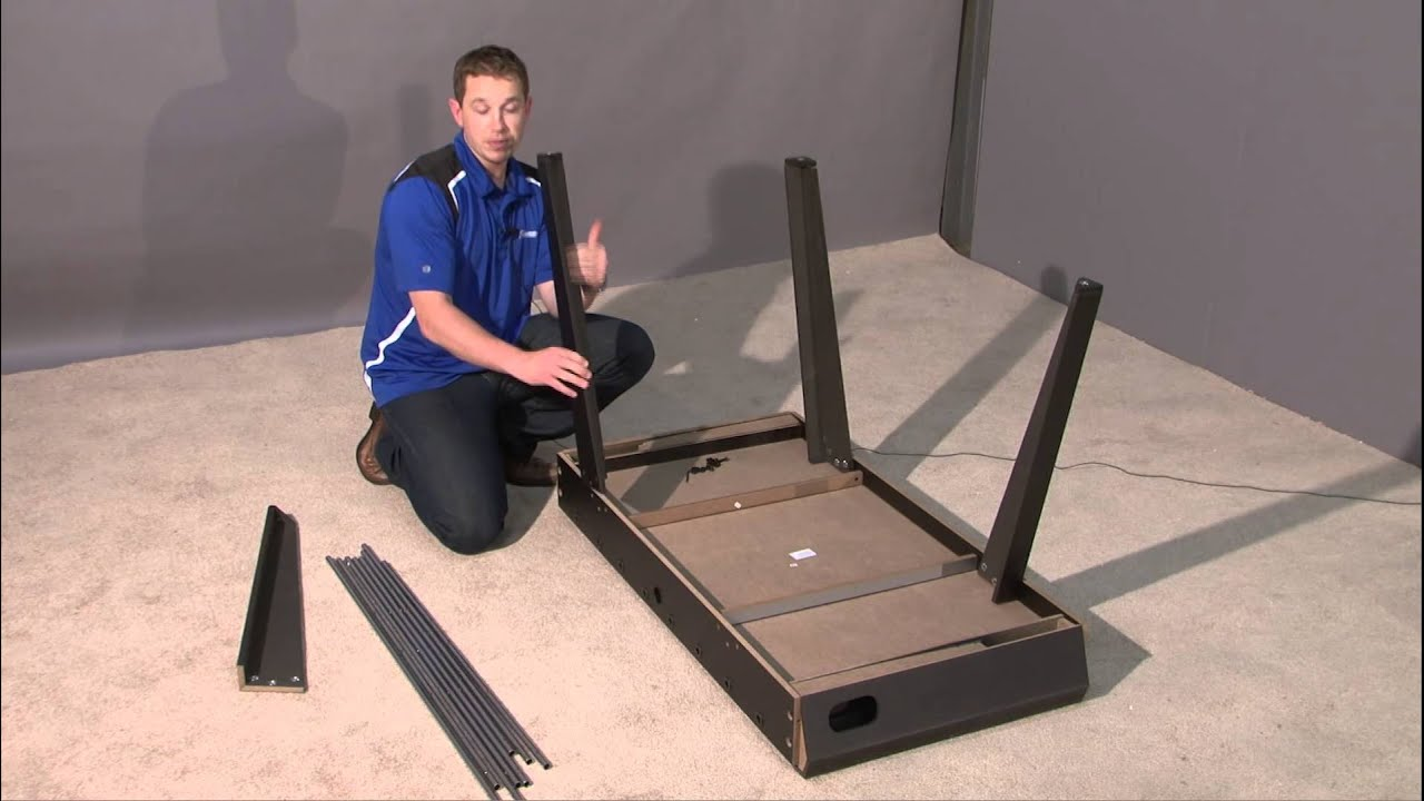 How To Assemble Foosball Table 48 Inch Youtube