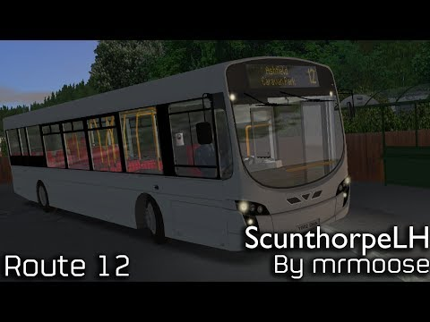 OMSI 2 Scunthorpe LH (Beta) Route 12