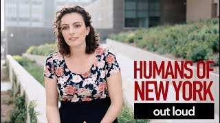 Humans of NY Out Loud - war stories & femininity