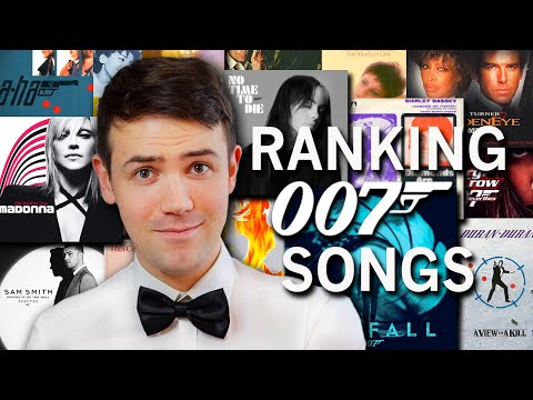 Ranking EVERY James Bond Title Song