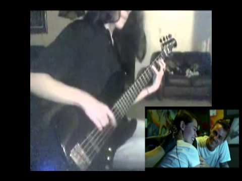 Black Veil Brides - Rebel Love Song (Bass Guitar Cover)