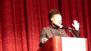 Majora Carter at APAP (part 3 of 3)
