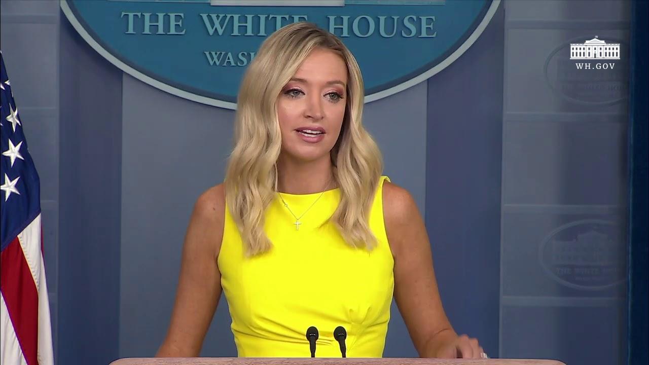 08/10/20: Press Secretary Kayleigh McEnany Holds a Press Briefing