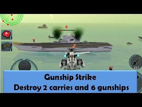 Gunship Strike Oil Field Destroy 2 carries and 6 gunships