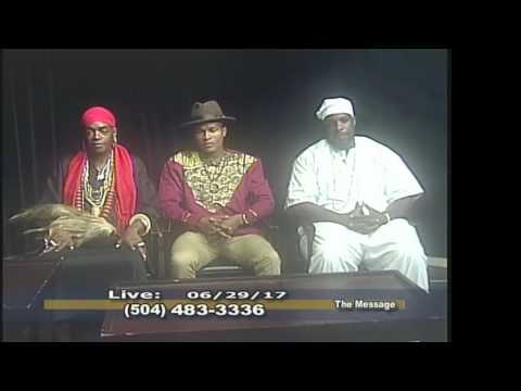 The Message with Danatus King ~ Voodoo Chief Divine Prince Ty Emmecca