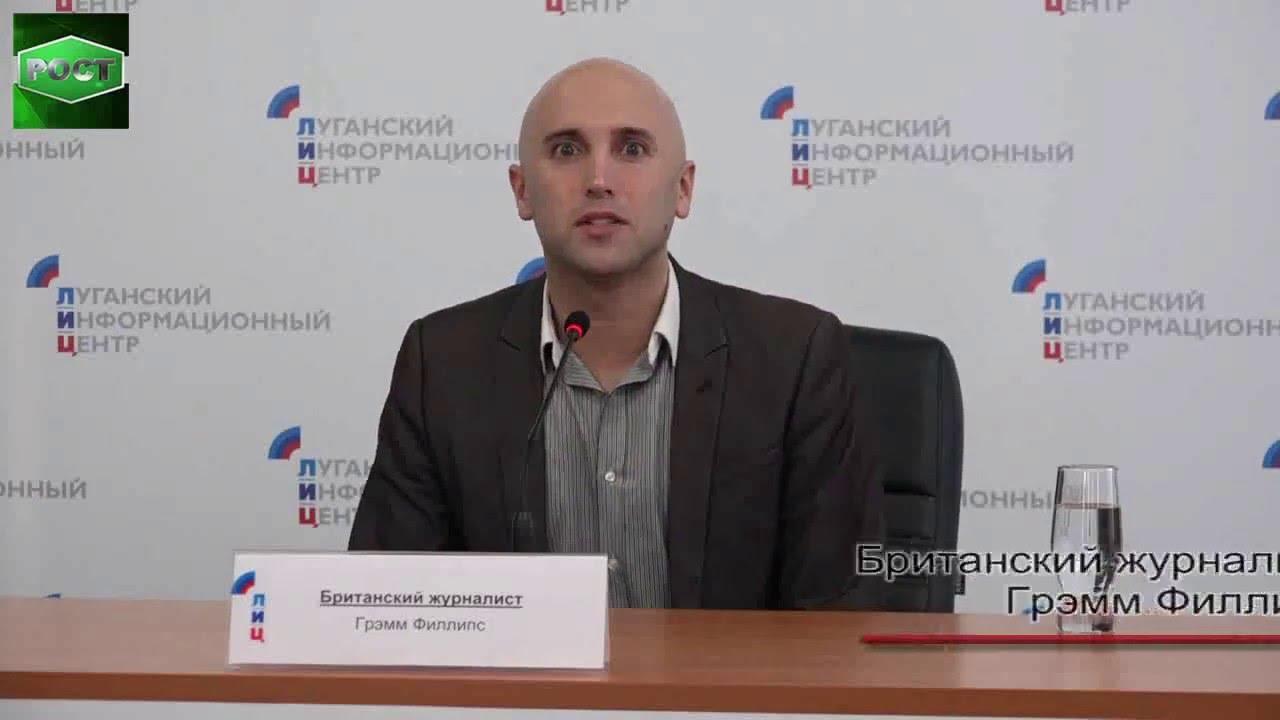 Грэм Филлипс представил фильм об ополченце Донбасса Арамис