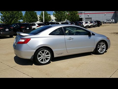 2007 Honda Civic Si Schaumburg, Arlington Heights, Buffalo Grove, Elgin, Northbrook, IL 15295PC