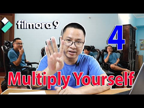 How to Multiply Yourself (4 Times) Using Filmora 9 - Cloning Effect With...