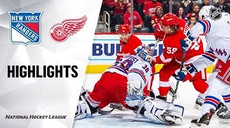 NHL Highlights | Rangers @ Red Wings 2/1/20