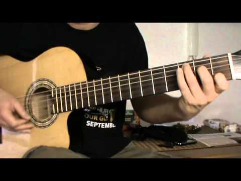 The Lumineers - Ho Hey guitar lesson with TAB - acoustic guitar cover