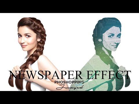Download Basic Newspaper Effect Photoshop Cs 6 Tutorial MP3, MKV