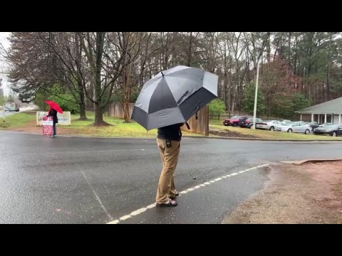 Phillip preaching At an abortion mill in Raleigh, NC