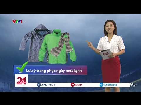 Thời tiết ngày 23/3: Gió mùa Đông Bắc tràn về, miền Bắc trời chuyển lạnh | VTV24