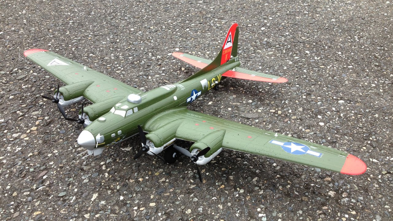 E Flite Umx B 17 Flying Fortress Wwii Bomber With As3x