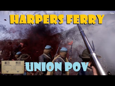 War Of Rights. Pontoon Massacre at Harpers Ferry. Union POV. |