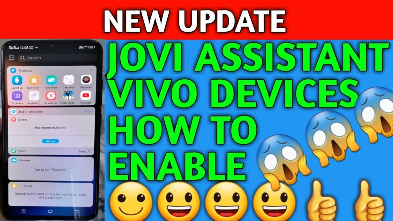 What is jovi assistant vivo phones how to enable [HINDI]