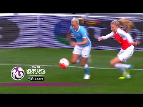 Manchester City Women 2-0 Arsenal Ladies | Goals & Highlights