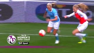 Manchester City Women 2-0 Arsenal Ladies  Goals amp Highlights