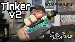 Wismec Tinker 2 Kit Review IP67 Rated Mod