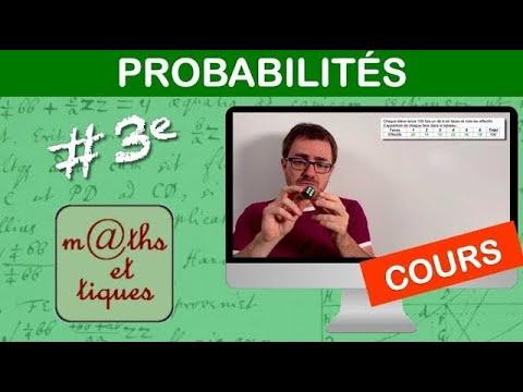 Download LE COURS : Probabilités - Troisième
