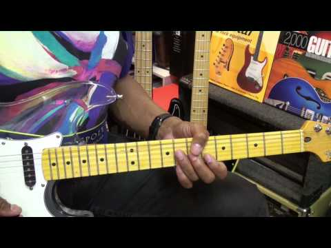 How To Play EXPRESS YOURSELF Guitar Lesson Charles...