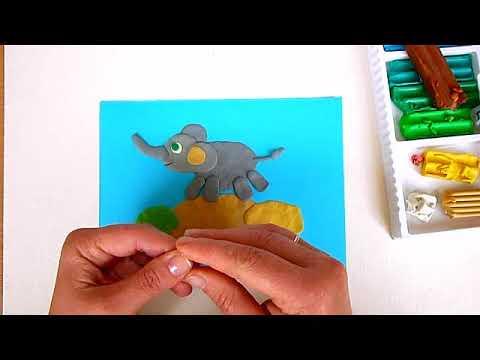 3 клас. Мистецтво. Ліпимо рельєф слона
