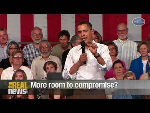 Obama's compromise on healthcare reform