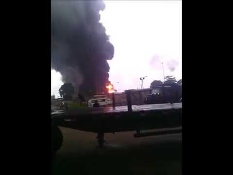 Ebocha NAOC Fire
