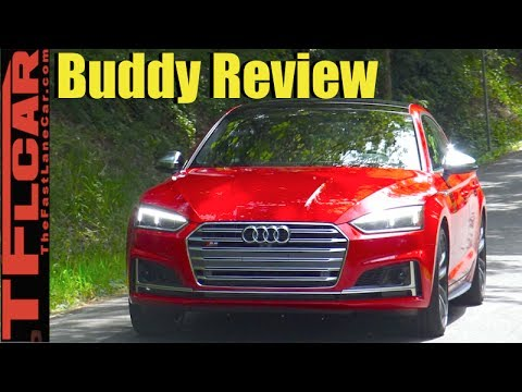 2018 Audi S5 Sportback Buddy Review: Two Friends Review The New S5 Hatchback