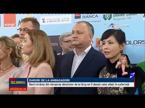 Igor Dodon a primit în dar harta României Mari