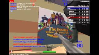Epic paintball wars on roblox (first ever video)