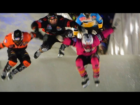 Crashed Ice is INSANE