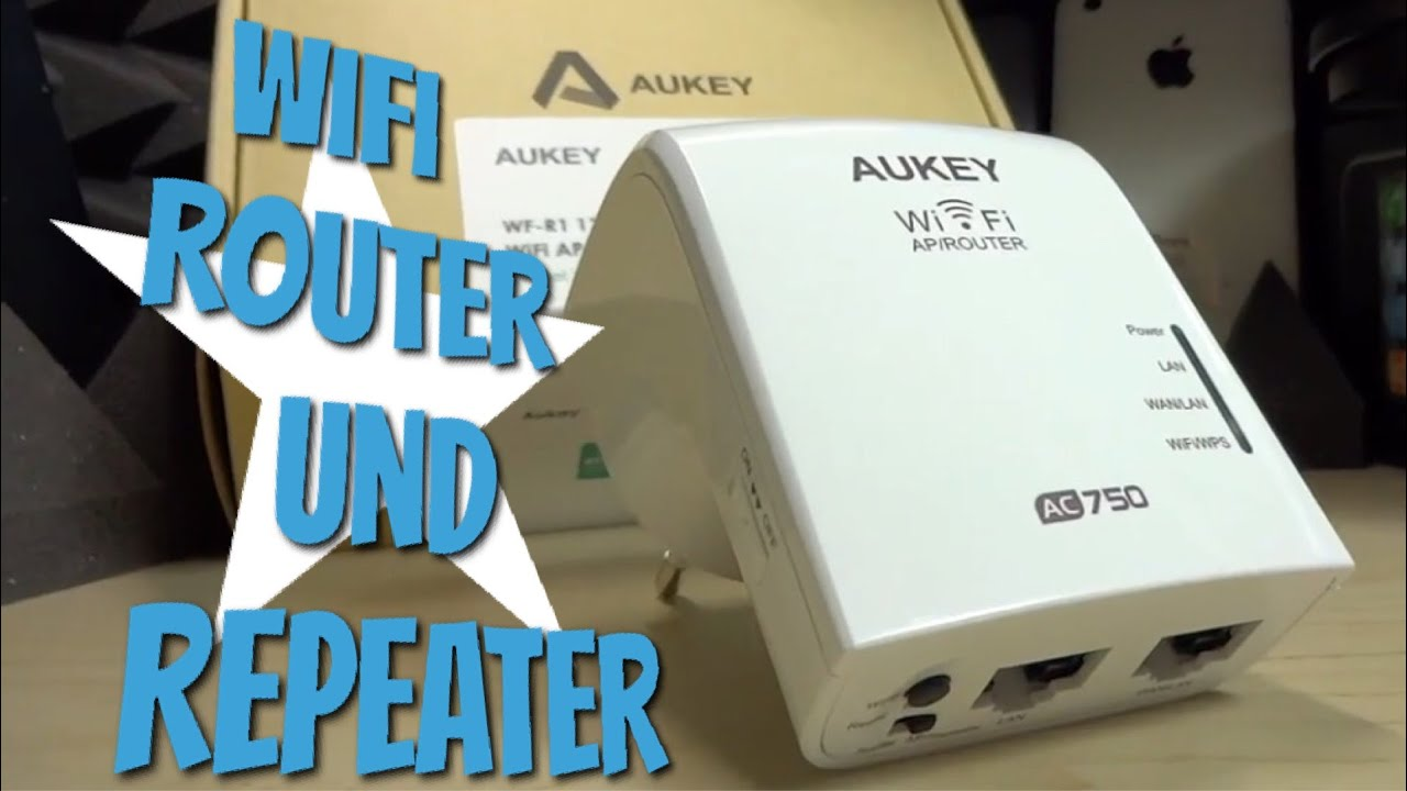 Besseres WLAN mit dem AUKEY WiFi AP Router & Repeater im Test Review ...