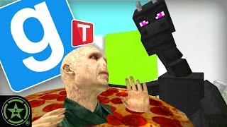 Stopping Traitors With Pizza in Gmod: TTT