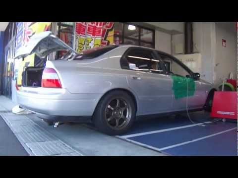 A-Spec 94 Accord H22A Turbo Dyno641ps