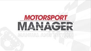 Motorsport Manager 2016 Настройка болида