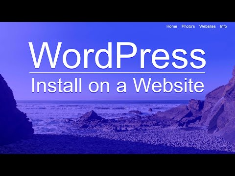 How to Install WordPress on a Website