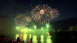 Прямая трансляция: Ростех-2016. Команда Эстонии. II Международный фестиваль фейерверков. 23.07.2016