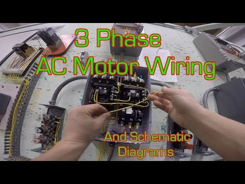 3 Phase Magic Motor Starter and Wire Diagram