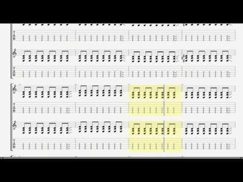 Rammstein  - America Guitar Tab